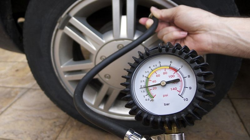 tires with the correct pressure