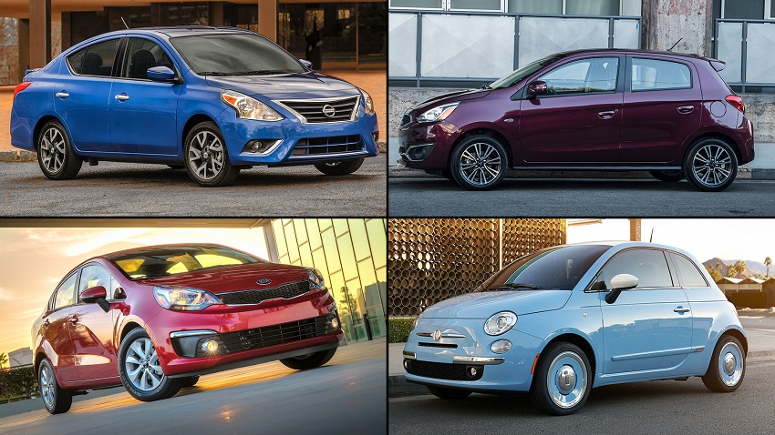 cheapest new cars