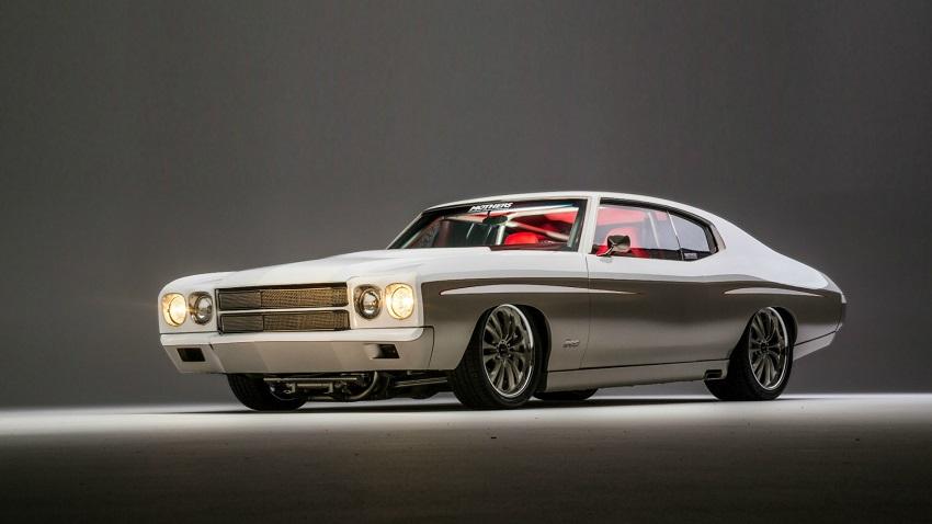beautiful muscle car