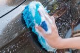 wash the car well