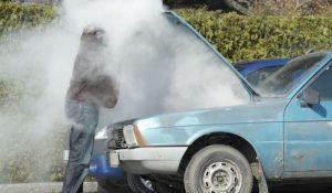 engine overheats