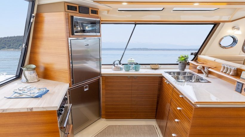 How To Create an Efficient Galley Space in Your Sailboat
