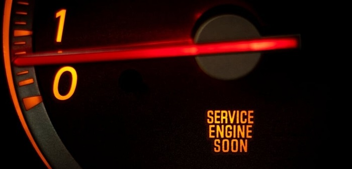 How to reset service engine soon light
