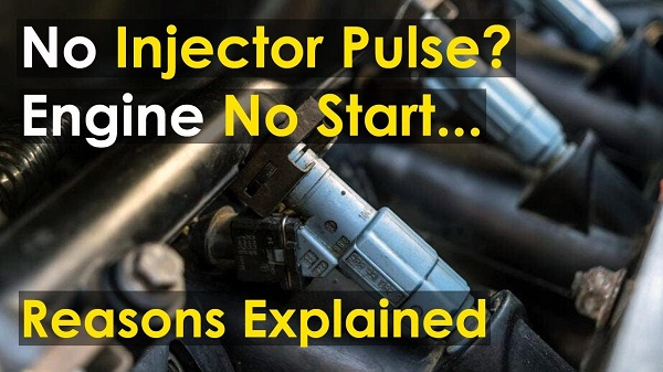 What causes no injector pulse